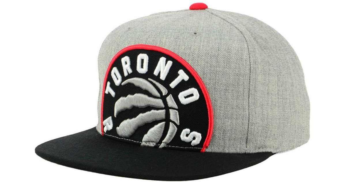 hot sale online 08043 631a6 ... low price lyst mitchell ness toronto raptors cropped heather snapback  cap for men 13b08 d91ef