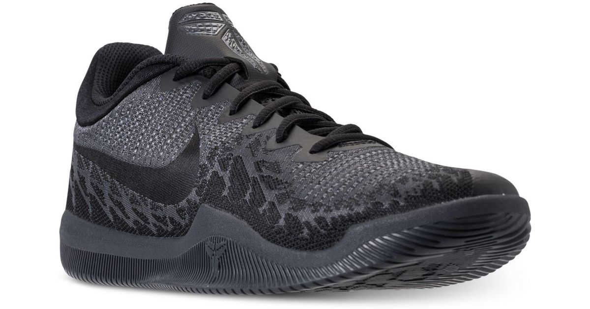 Lyst - Nike Men s Kobe Mamba Rage Basketball Sneakers From Finish Line in  Black for Men 550e7ac45