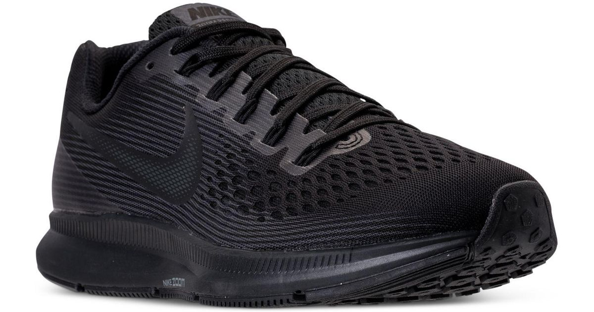 81d8e37c47a Lyst - Nike Air Zoom Pegasus 34 Running Sneakers From Finish Line in Black  for Men