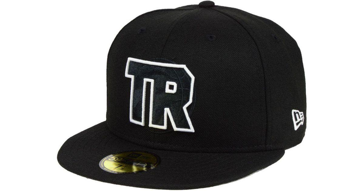best service 33e55 79b57 ... get lyst ktz toronto raptors combo logo 59fifty fitted cap in black for  men 823e6 8aa31