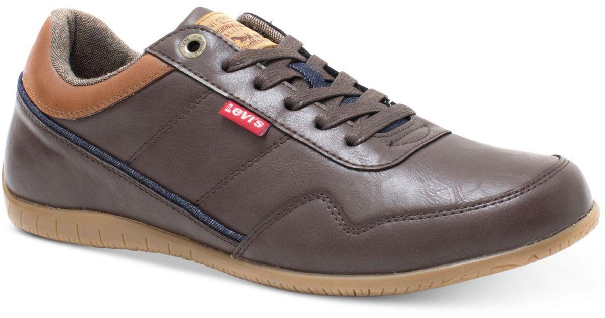 185d03e1865e Lyst - Levi s Rio Burnish Ii Sneakers in Brown for Men