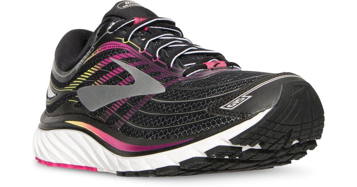 57daa863d Lyst - Brooks Women s Glycerin 15 Running Sneakers From Finish Line in Black