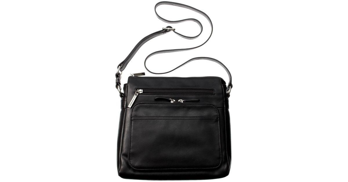 Lyst Giani Bernini Handbag Na Front Zip Crossbody In Black Save 40 4040404040404