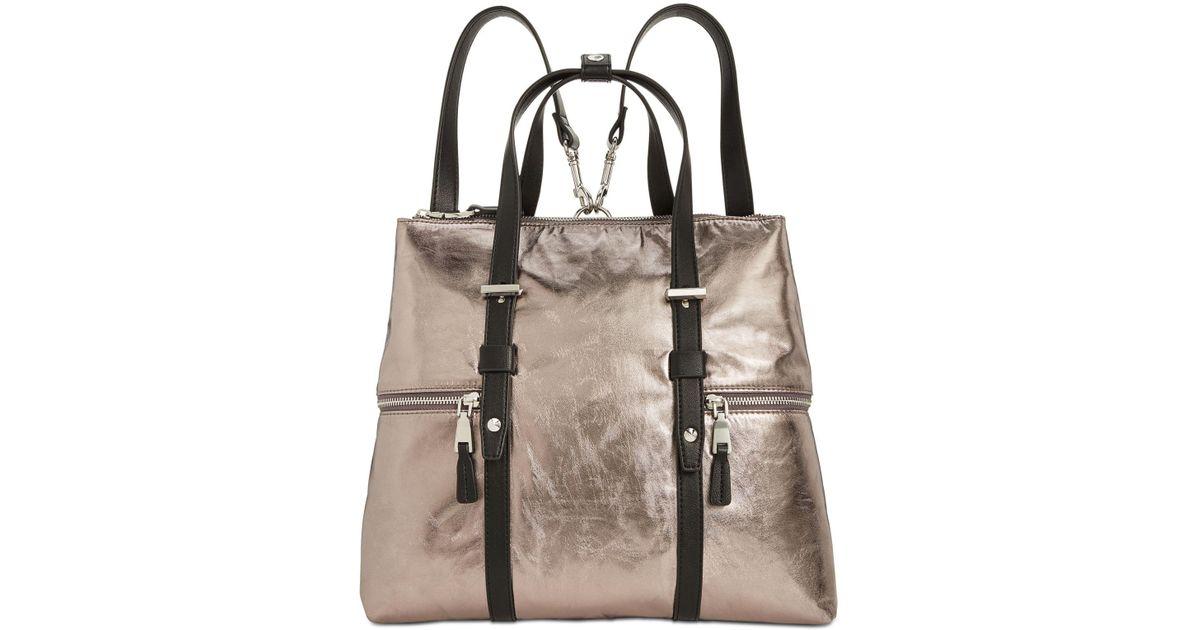 Lyst - INC International Concepts I.n.c. Haili Nylon Convertible Backpack d46ac2da6378f