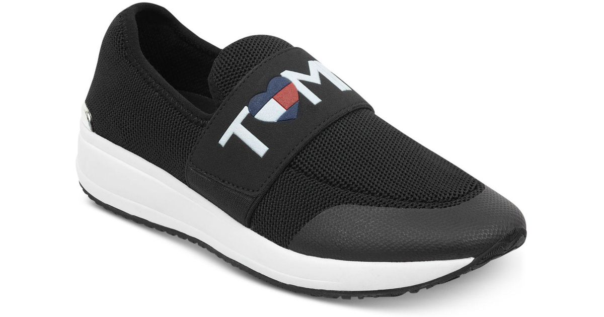 1027c685d2b2 Lyst - Tommy Hilfiger Rosin Slip-on Fashion Sneakers in Black
