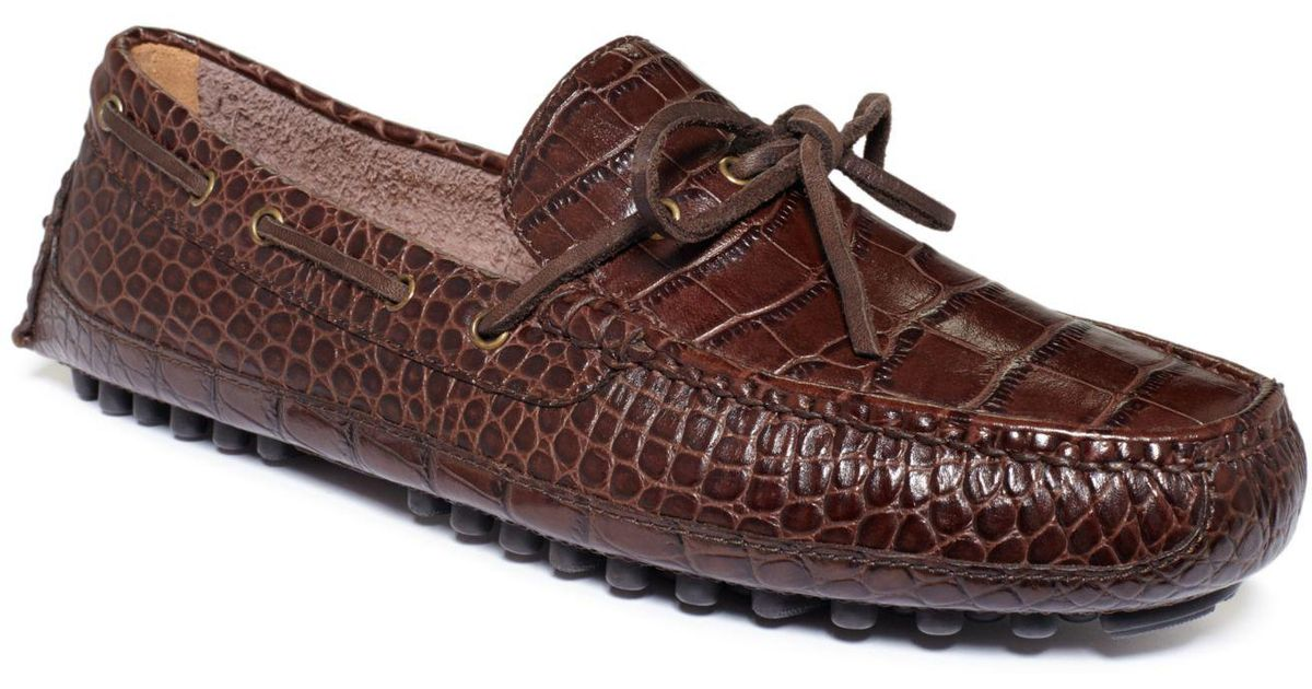 dc8b1eb58ea Lyst - Cole Haan Grant Canoe Camp Moc Shoes in Brown for Men