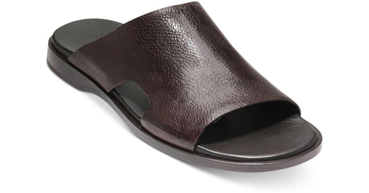 5fb1f1d38355b Lyst - Cole Haan Goldwyn Dress Slide Sandals for Men