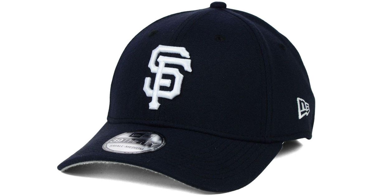 low priced 20d96 8aaad ... mlb 9fifty snapback cap in black for men f595b e24d4 new zealand lyst ktz  san francisco giants fashion 39thirty cap in blue for men 7df11 87d73 ...