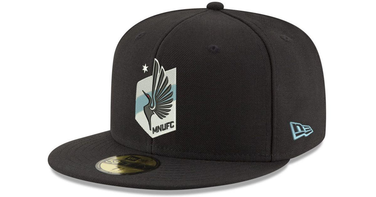 timeless design bb0d2 123fc KTZ Minnesota United Fc Core 59fifty-fitted Cap in Black for Men - Lyst