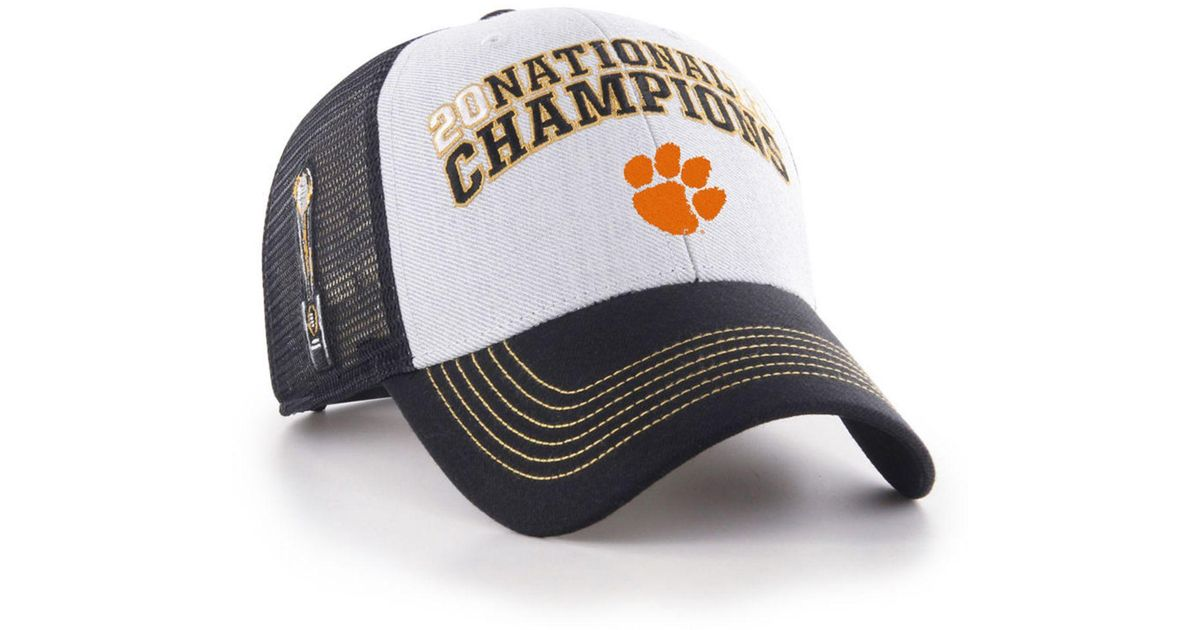 the best attitude d981d 25354 47 Brand Clemson Tigers 2019 College Football Playoff Champ Mvp Snapback Cap  in Black for Men - Lyst