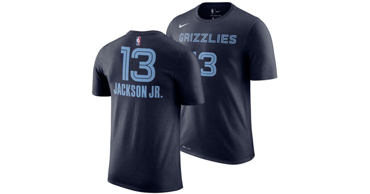 141edee0983e Lyst - Nike Jaren Jackson Jr. Memphis Grizzlies Icon Player T-shirt in Blue  for Men