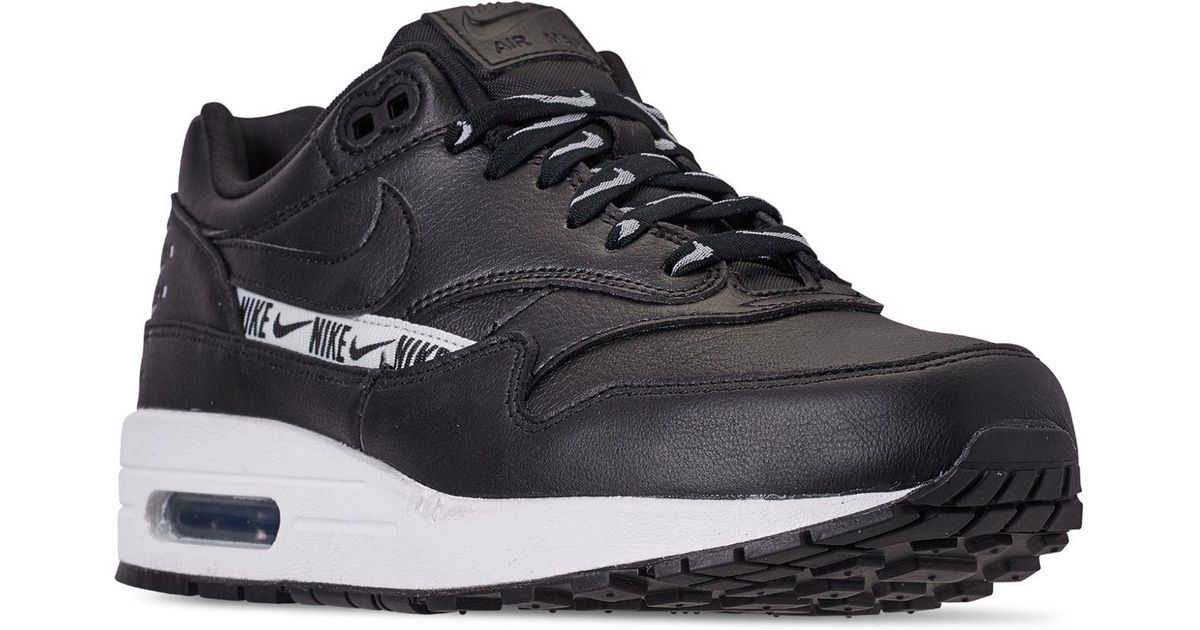 Line Running Air 1 Sneakers Max Black Se From Nike Lyst Finish stQdhrCx