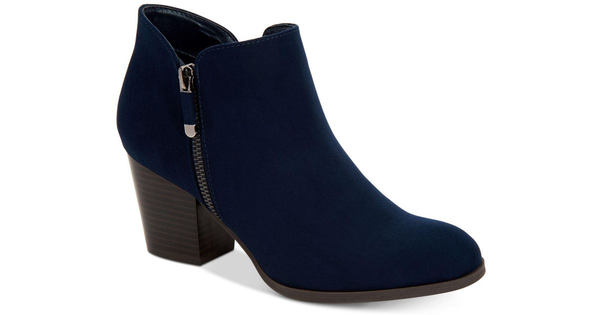 9b636d42bf40f0 Lyst - Style   Co. Masrinaa Ankle Booties