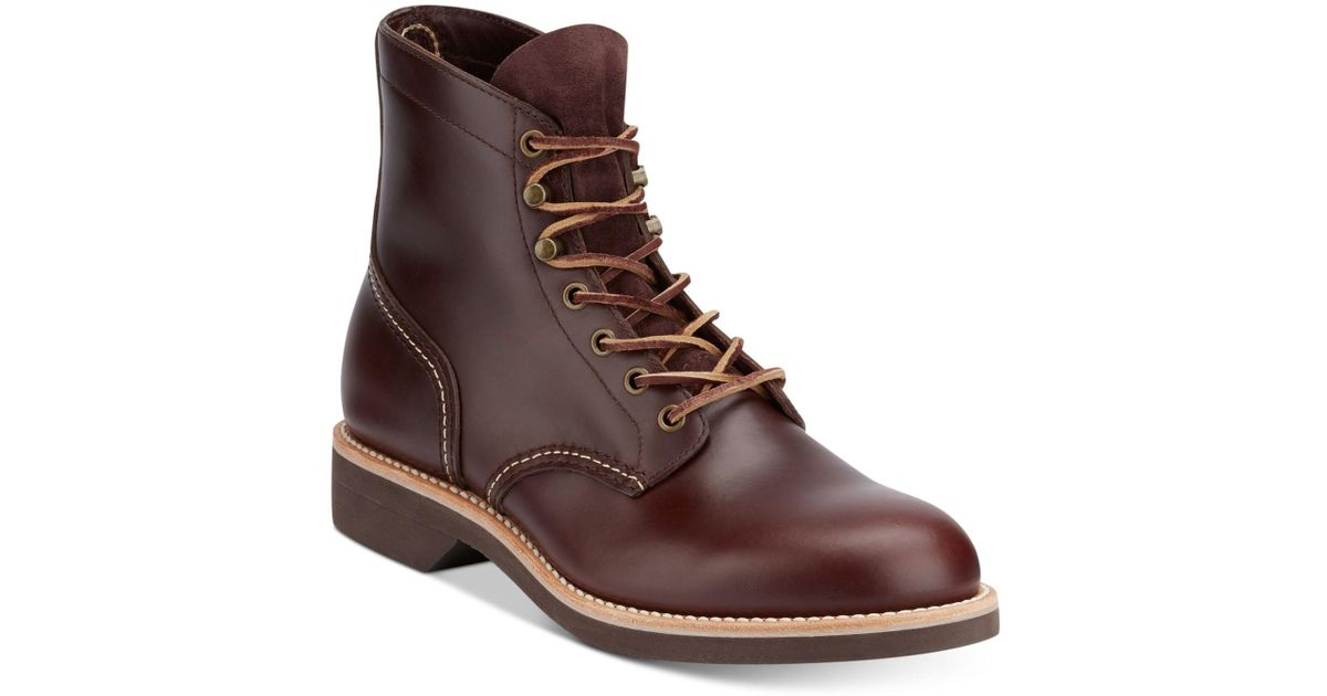 G.H. Bass Men's Reid Leather Hiking Boots
