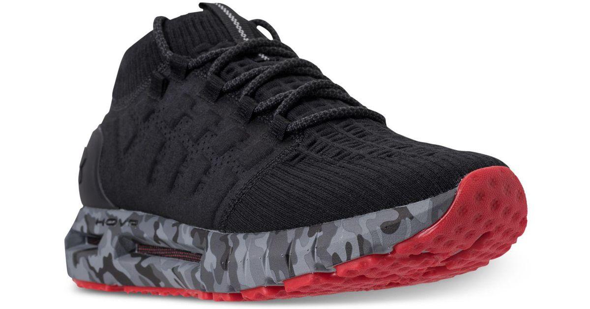1d6324b78ea3 Lyst - Under Armour Hovr Phantom Nm2 Running Sneakers From Finish Line in  Black for Men