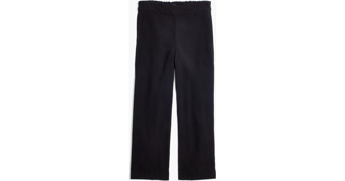 c87085e22c Lyst - Madewell Raymond Pull-on Pants in Black