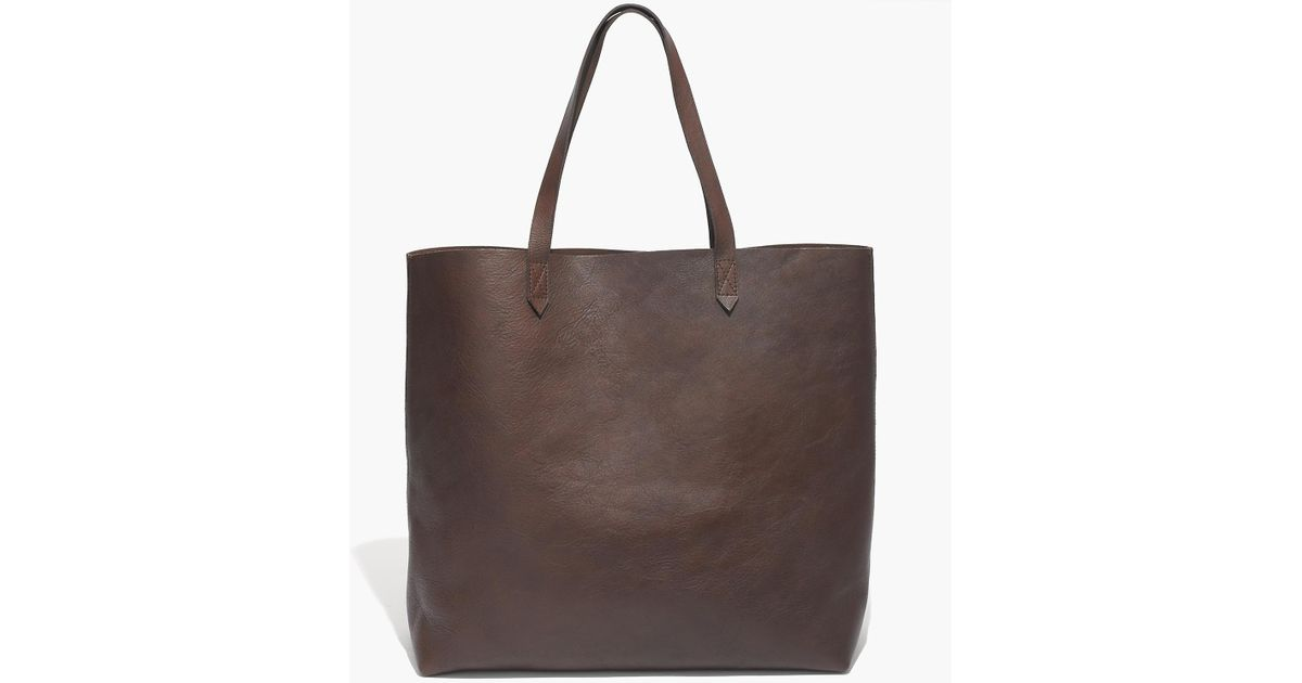 e02fc07da Madewell The Transport Tote in Brown - Lyst