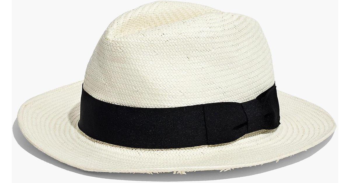 9adbfb0b56ee Madewell X Biltmore® Panama Hat in Black - Lyst