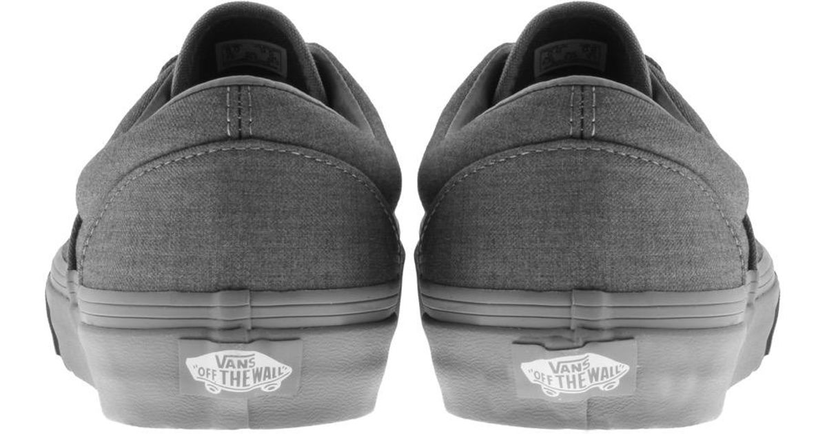 d6aee0f9bd Lyst - Vans Mono Chambray Era Trainers Grey in Gray for Men