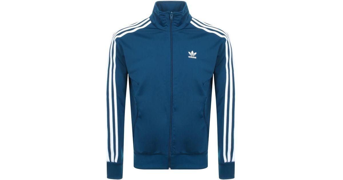 finest selection 76af3 5a0de adidas Originals Firebird Track Top Blue in Blue for Men - Lyst