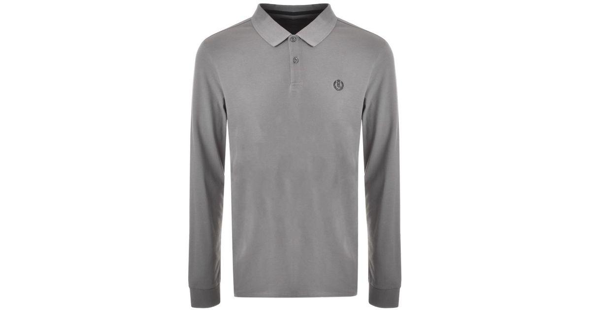 11dd35ef7 Lyst - Henri Lloyd Musburry Long Sleeve Polo T Shirt Grey in Gray for Men