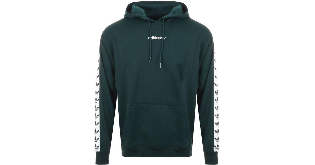 Adidas Originals Originals Tnt Tape Hoodie Green In Green For Men Lyst