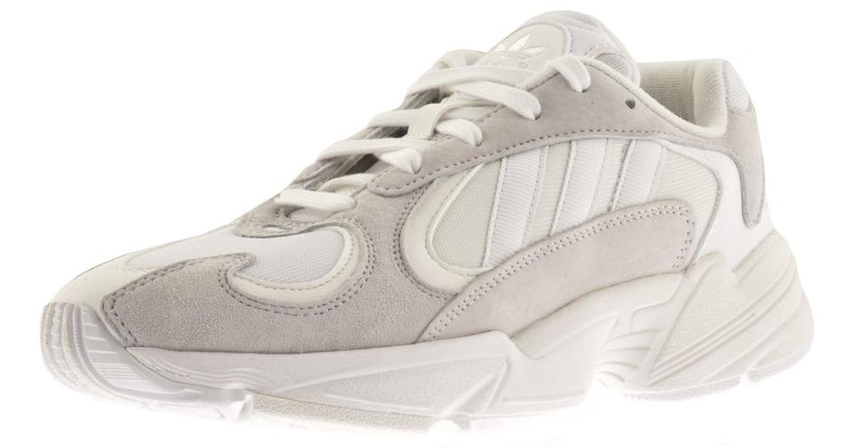 online store f68b2 db598 Lyst - adidas Originals Yung 1 Trainers White in White for Men