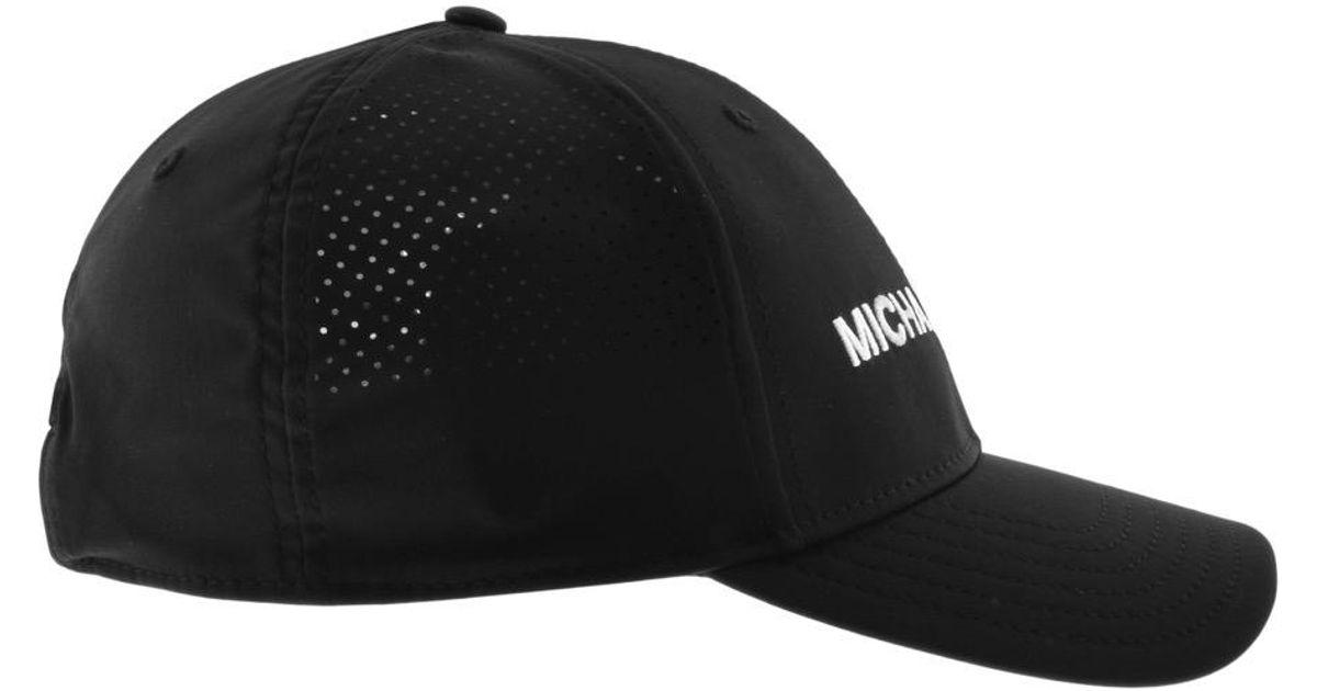 Michael Kors Performance Cap Black in Black for Men - Lyst c4ea8bff28ca