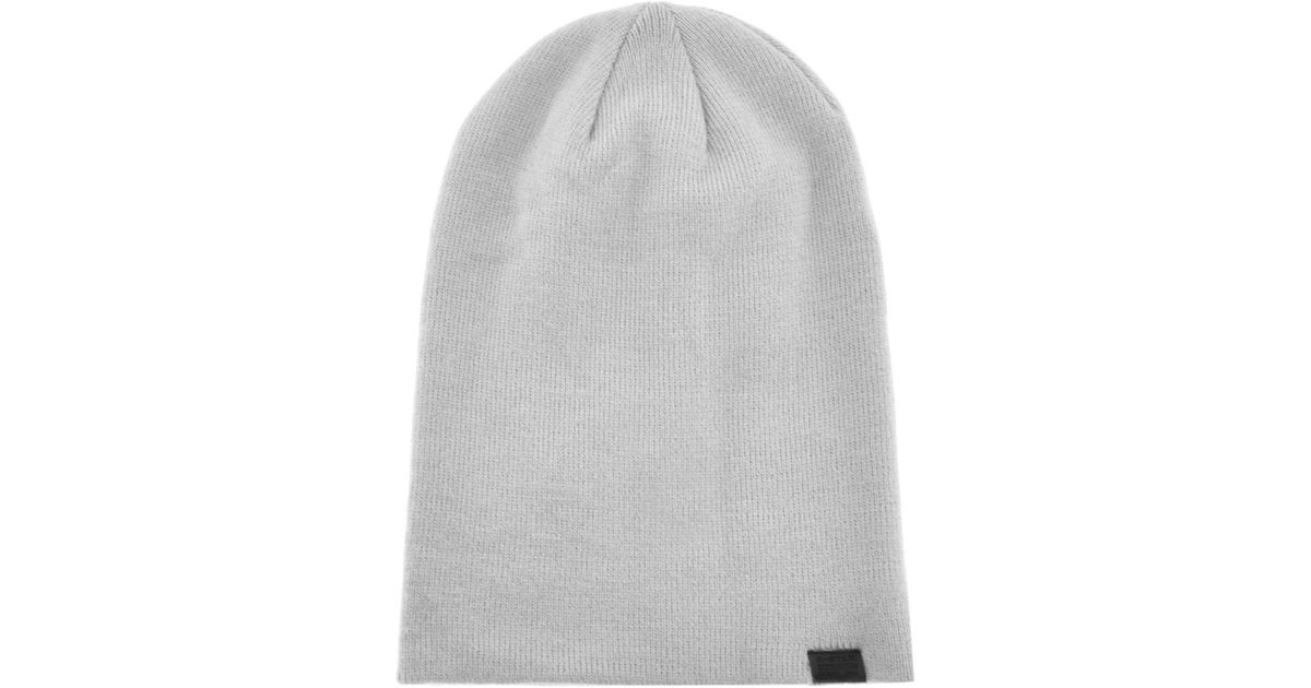 Lyst - G-Star RAW Effo Long Beanie Hat Grey in Gray for Men ec41c464e9e
