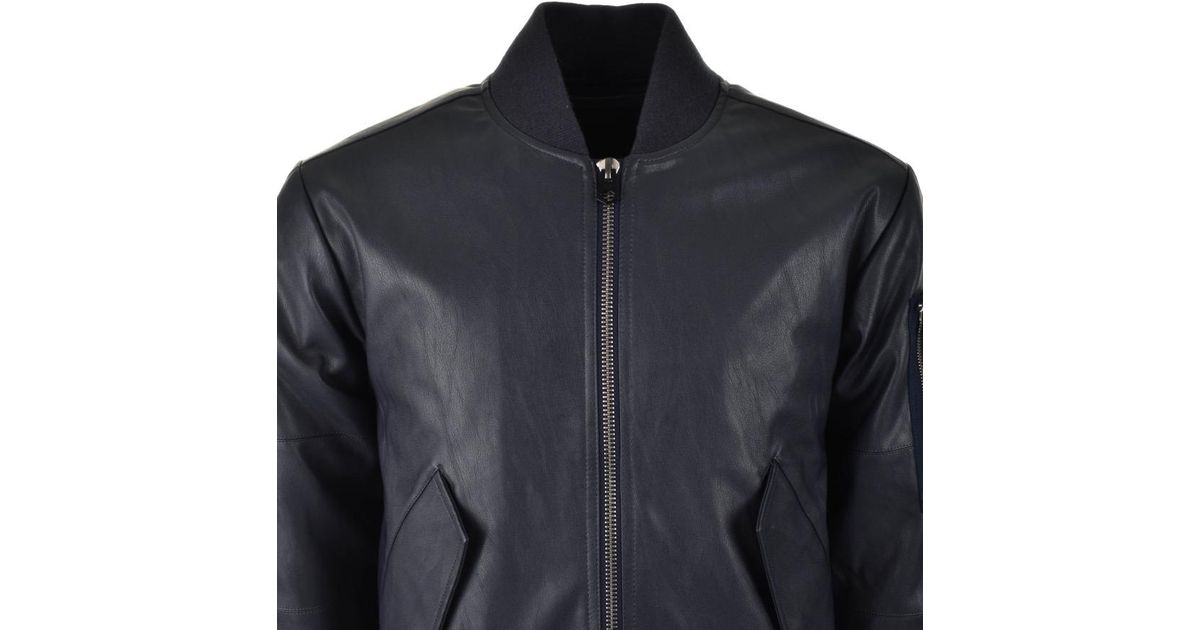 ca32b7bdee19c8 Lyst - G-Star RAW Rakam Bomber Jacket Blue in Blue for Men