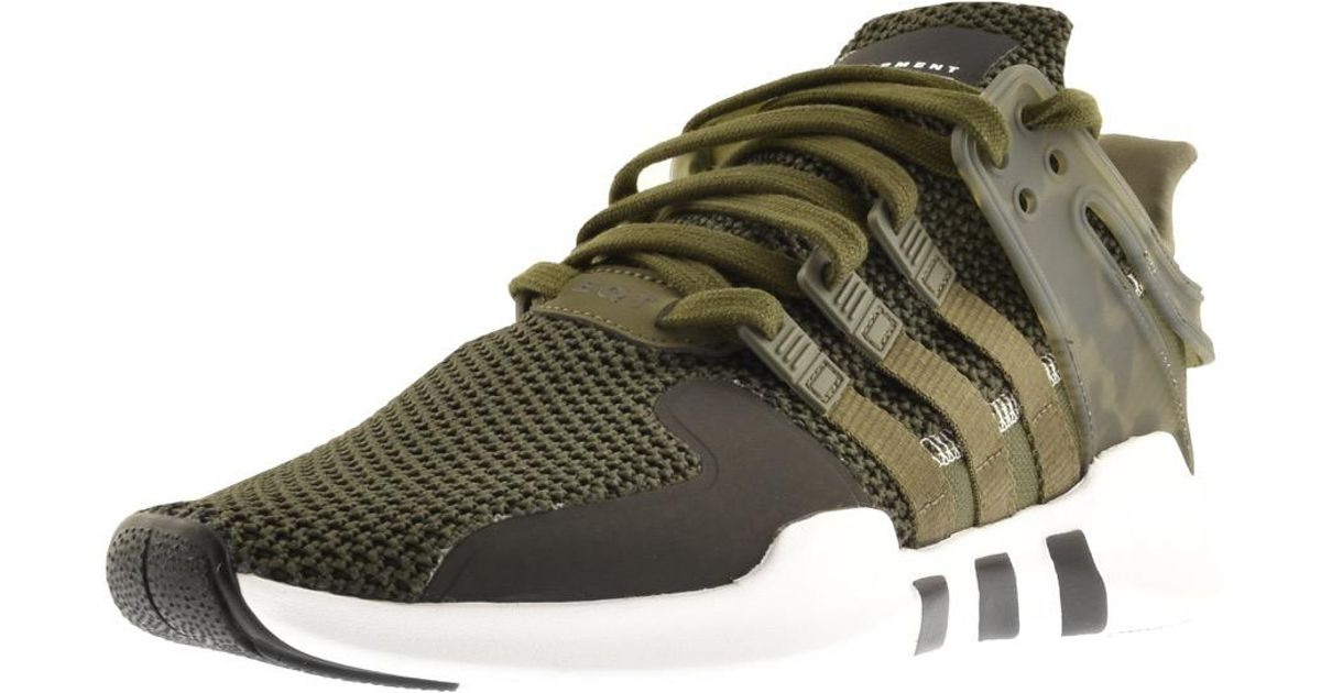 ae715c78fc2d Lyst - adidas Originals Eqt Support Trainers Green in Green for Men