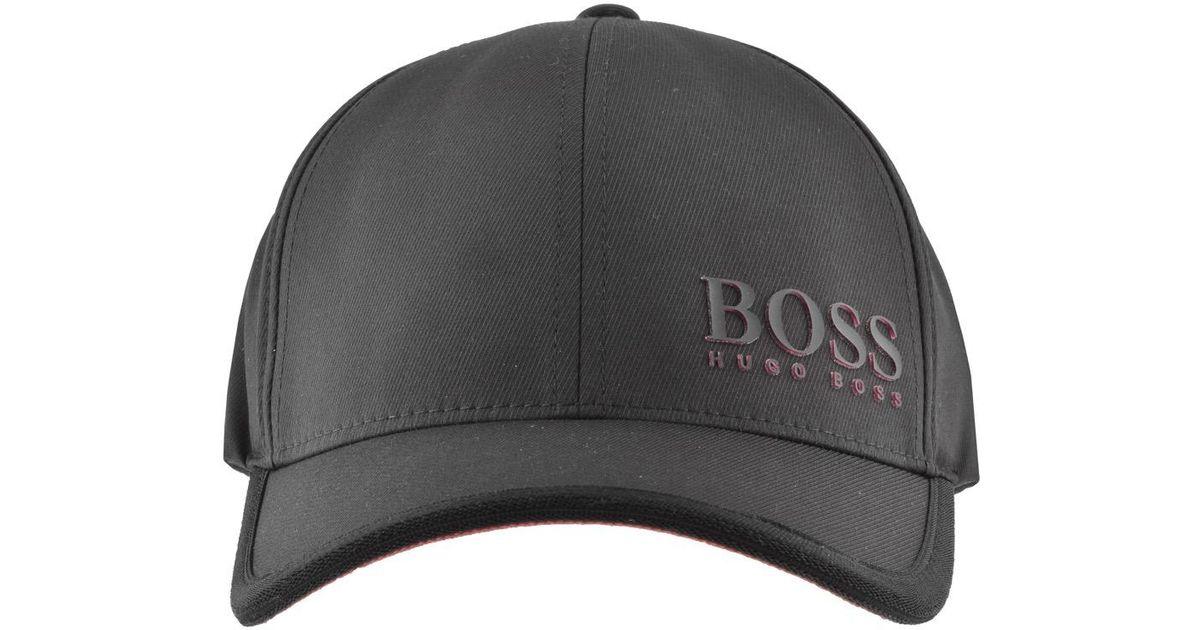 c039dbd8d0c Lyst - Boss Athleisure Boss Green Baseball Cap 1 Black in Black for Men