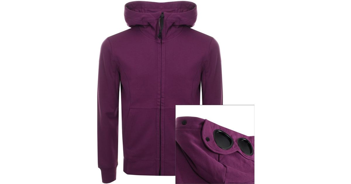 Fitnessmode Cp Company Goggle Hoody Purple