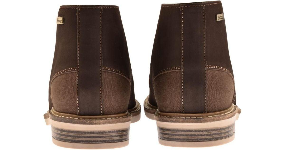 58331e14128 Barbour - Readhead Chukka Boots Brown for Men - Lyst