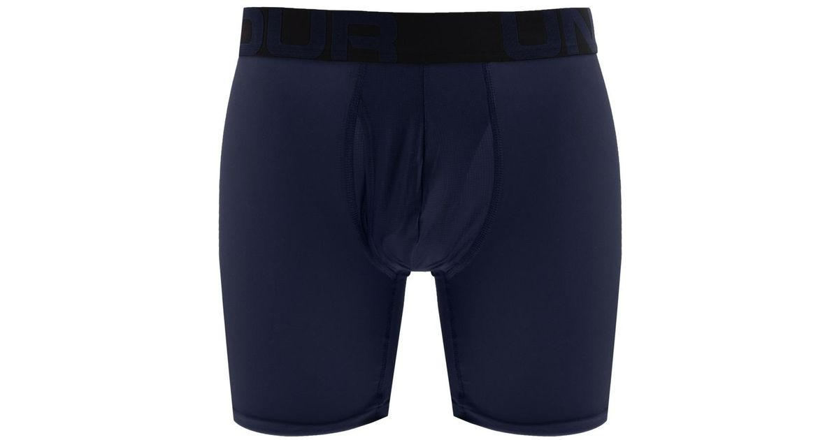 c3fef9cacbfd Lyst - Under Armour Boxerjock 2 Pack Boxer Briefs Blue in Blue for Men