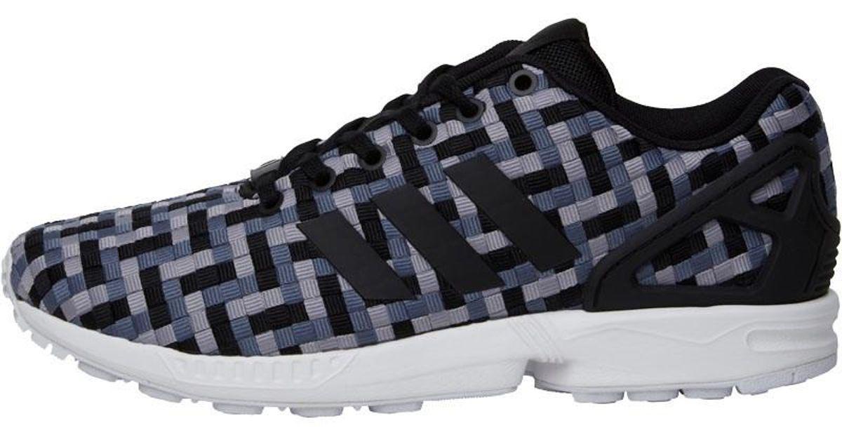 fa0edb1c8 ... sweden adidas originals zx flux trainers onix core black light onix in  gray for men lyst