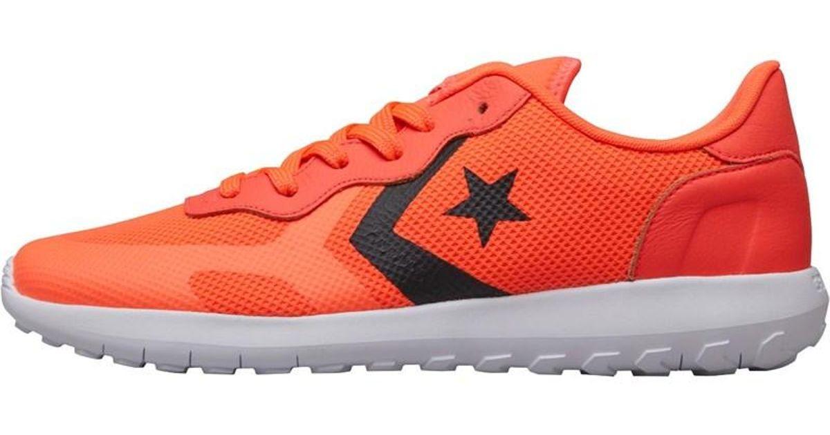 e216e0029b Converse Thunderbolt Ultra Ox Trainers Orange/black/white in Orange - Lyst