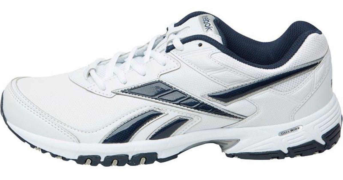 9f442153aa0b Reebok Neche Dmx Ride Training Shoes White navy silver in White for Men -  Lyst