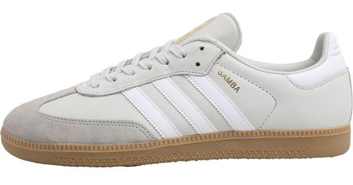 ed09910edc73 adidas Originals Samba Og Trainers Beige vintage White footwear White clear  Granite in White for Men - Lyst