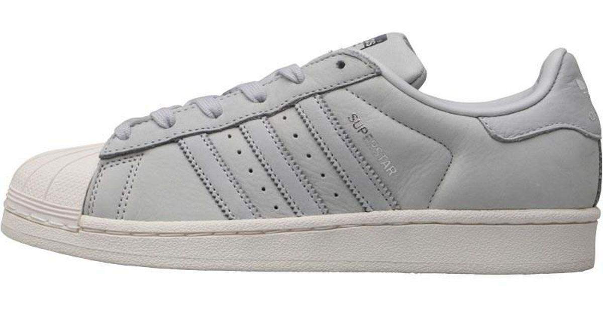 newest 3ceac 856d3 adidas Originals Superstar Trainers Light Solid Greylight Solid  Greysilver Metallic in Gray - Lyst