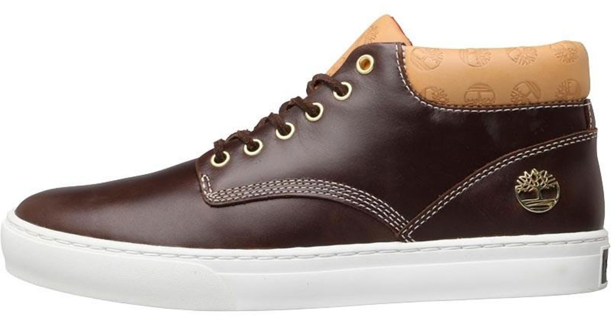 Timberland Adventure 2.0 Cupsole Chukka Boots Mid Brown for men