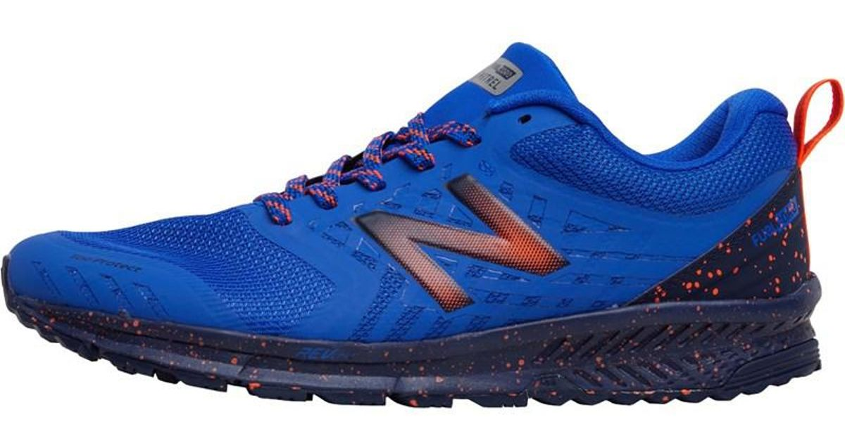 New Balance Nitrel Trail Running Shoes Pacific Blue In Blue For Men