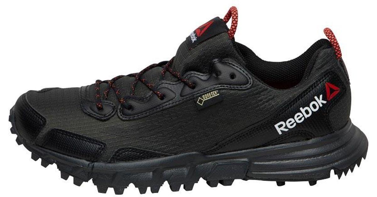 ff24c257b Reebok Les Mills Sawcut 3.0 Gore-tex Walking Shoes Black gravel chalk neon  Cherry in Black - Lyst