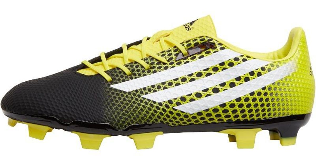 adidas Crazyquick Malice Fg Rugby Boots Core Black white bright Yellow in  Black for Men - Lyst 59897e0fe