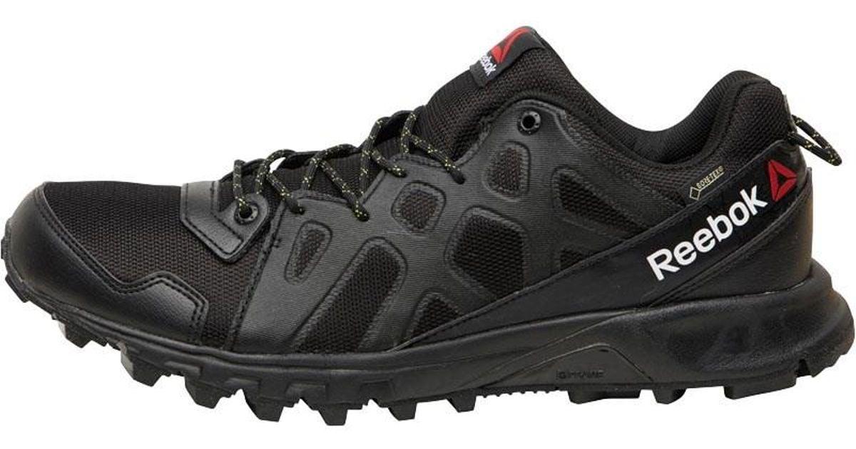 ed85bd63cb9bd6 Reebok Les Mills Sawcut 4.0 Gore-tex Walking Shoes Black hero Yellow in  Black for Men - Lyst