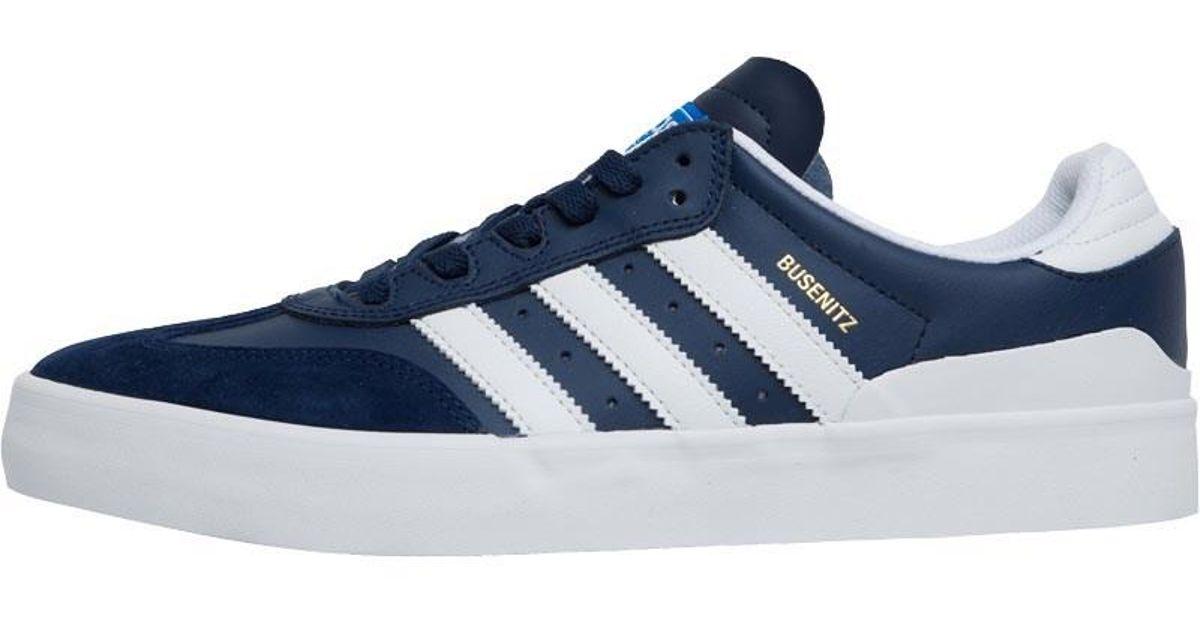 newest 5a6e1 8d1f3 adidas Originals Busenitz Vulc Rx Trainers Collegiate Navyfootwear Whitebluebird  in Blue for Men - Lyst