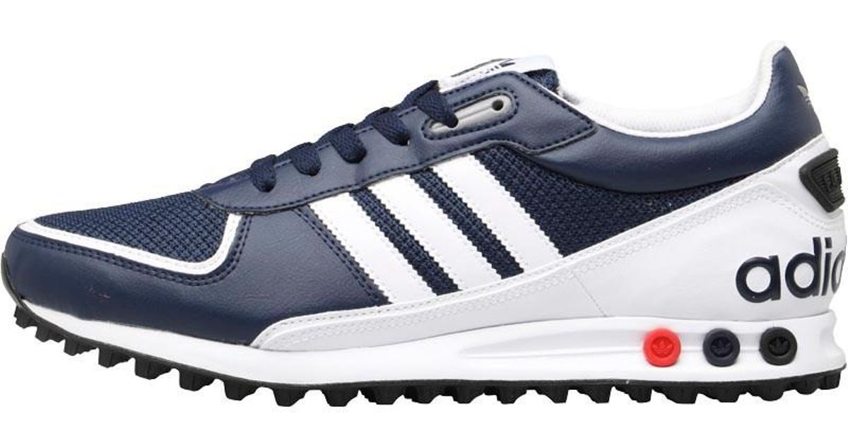 new style 973ee e5101 adidas Originals La Trainer Ii Trainers Collegiate Navy footwear  White charcoal Grey in Blue for Men - Lyst