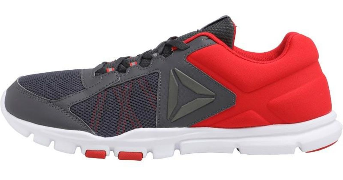 b744a5c7c93c Reebok Yourflex Train 9.0 Mt Training Shoes Primal Red ash Grey white in  Red for Men - Lyst