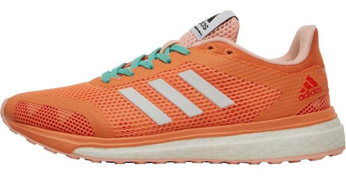 065f329bbfef adidas Response Plus Boost Neutral Running Shoes Easy Orange footwear  White haze Coral in Orange - Lyst