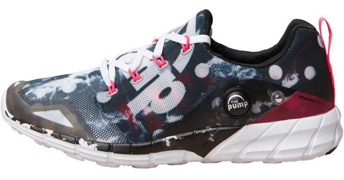 c5e07b78a66b Reebok Zpump Fusion 2.0 Storm Neutral Running Shoes Black running  White solar Pink in Black - Lyst